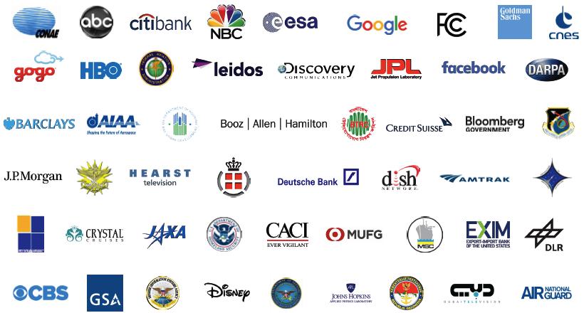 SAT17 Attendee Logos